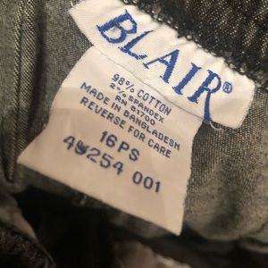 Blair vintage black pull on Jeans